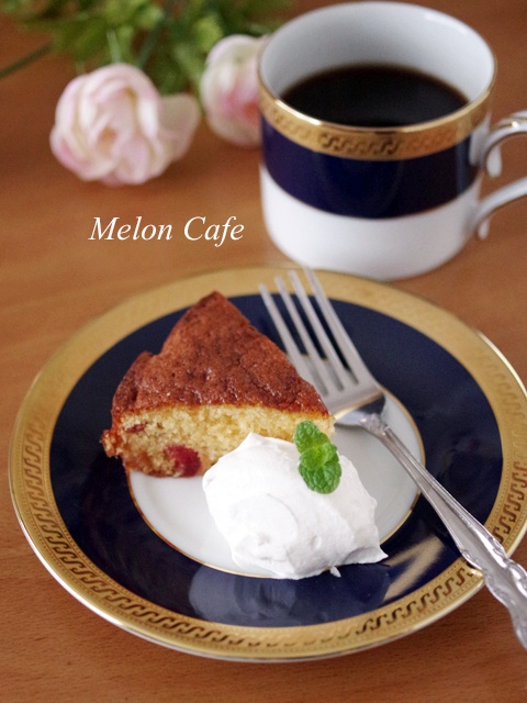 ホットケーキミックスでふんわり簡単おやつケーキ