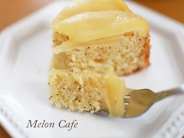 HMで簡単りんごと紅茶のアップルティーケーキ01