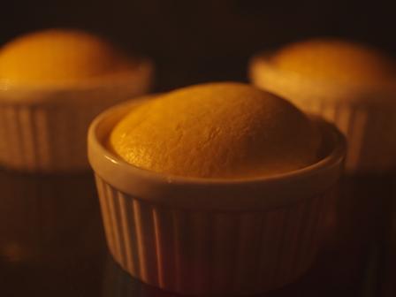 材料みっつで簡単本格スフレチーズケーキ07