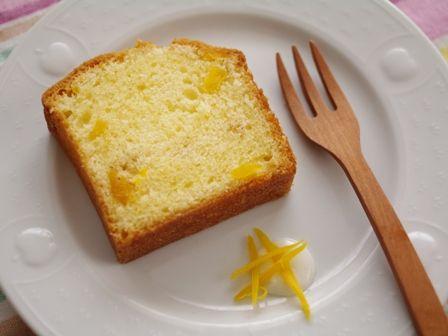 ドライマンゴーのパウンドケーキ