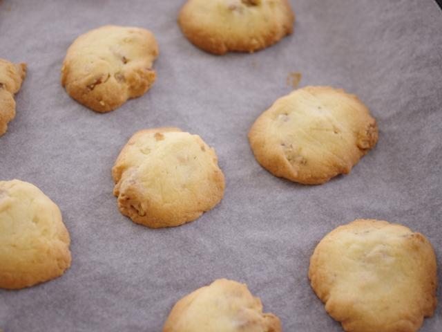 簡単くるみ入りのふわサククッキー07