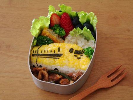 新幹線ドクターイエローのお弁当
