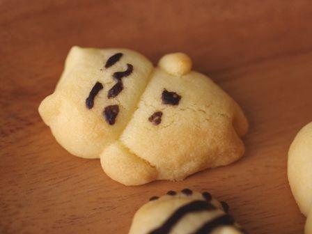 簡単ねこあつめ風クッキー00