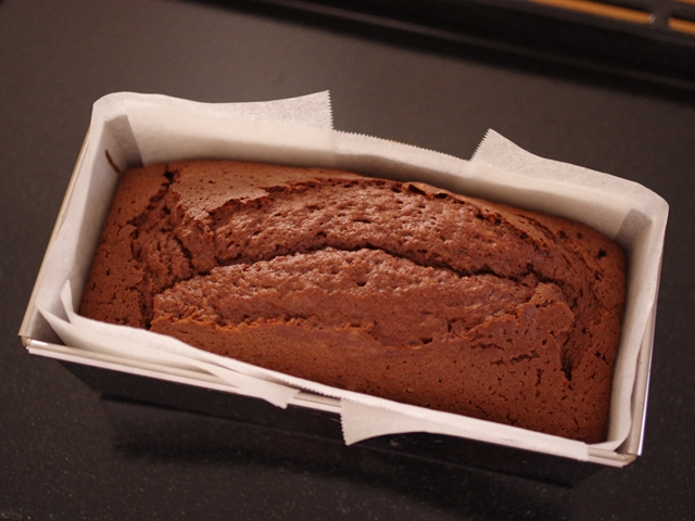 ホットケーキミックスの本格チョコレートケーキ06