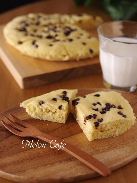 ホットケーキミックスで超簡単チョコっとレンジ蒸しパン