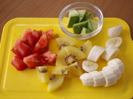 マイボトルブレンダーでつくる野菜と果物たっぷりのふんわりジュース09