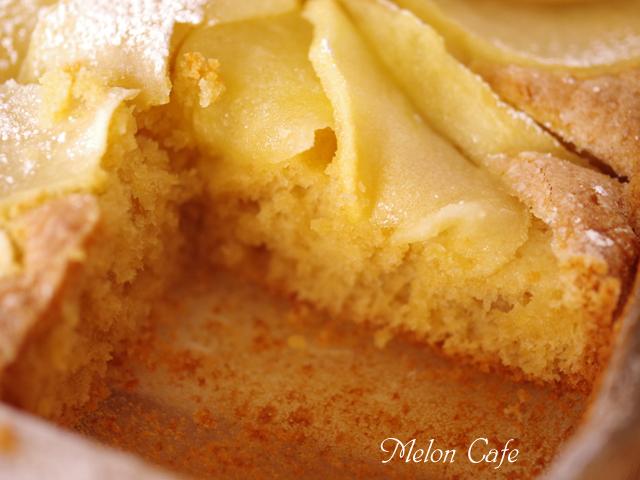 ホットケーキミックスで簡単クリスマスのりんごケーキ00