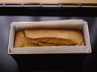 スモークサーモンと茶豆のケークサレ06