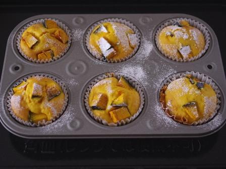 メリリマオリーブオイルでかぼちゃのHMカップケーキ04