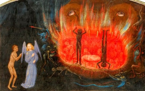 Simon Marmion Vision of Hell, 1475