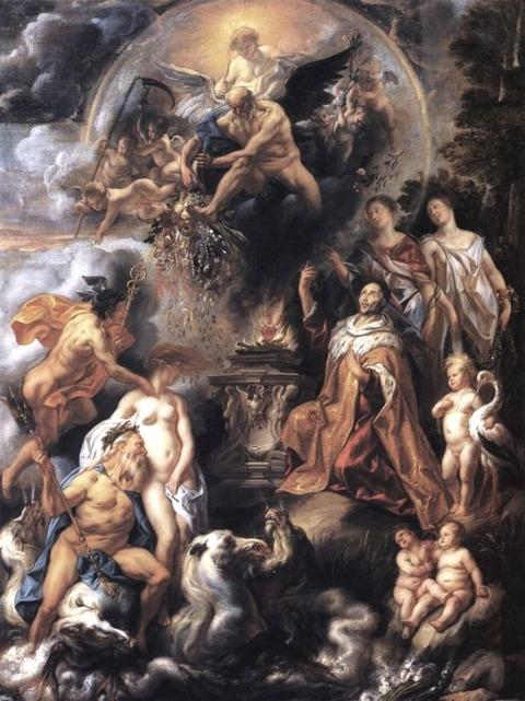Jacob Jordaens -  Peace of Westphalia 1654