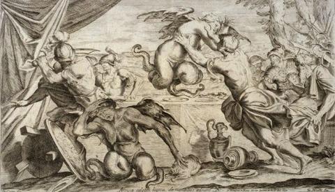 Giuseppe Maria Mitelli Annibale Carracci 1663