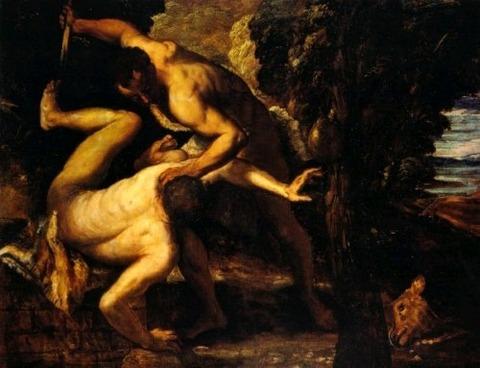 kain_abel-Il Tintoretto 1518 – 1594