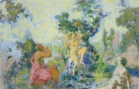 Ker Xavier Roussel, La Fontaine de Jouvence · Fountain Of Youth
