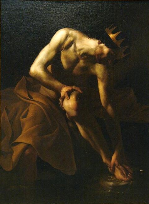 Midas Source Pactolus Bartolomeo Manfredi 1617-19