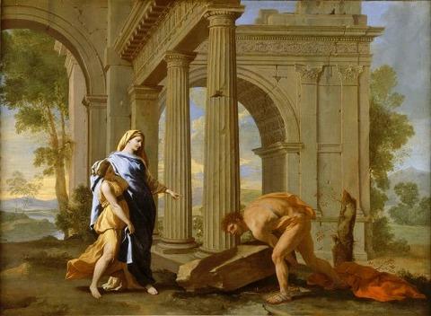 Theseus Finding  Sword  Nicolas Poussin  Jean Lemaire 1638