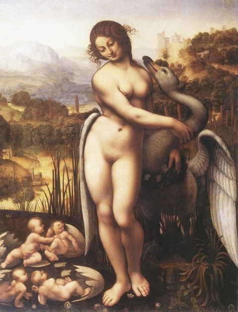 Leonardo da Vinci's Leda and the Swan 1507