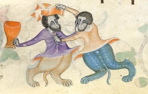 between 1320 -40 London, British Library