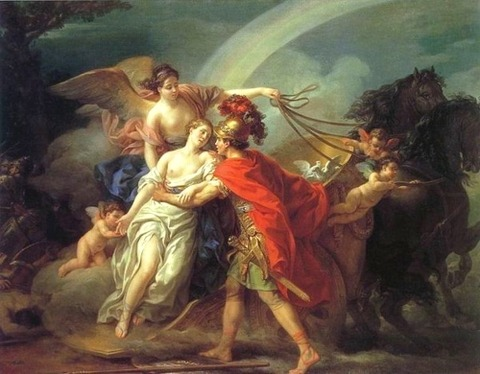 VIEN, Joseph-Marie Venus, Wounded by Diomedes 1775