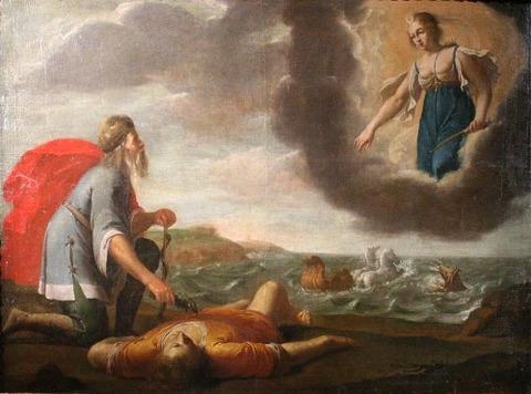 Daret_Esculape_ressucitant_Hippolyte Jean Daret  (1613–68)