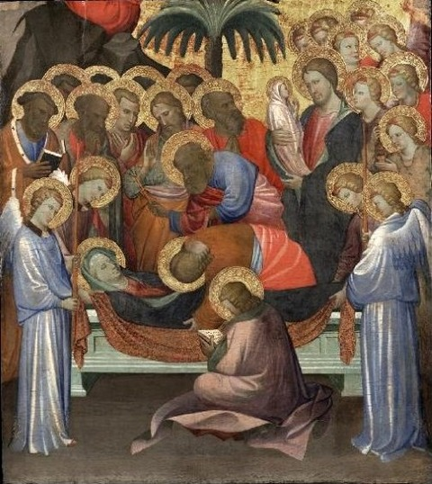 Dormition of the Virgin  Gherardo Starnina  1404