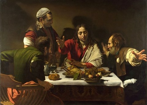 Supper at Emmaus by Caravaggio, 1601
