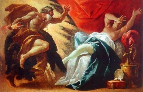 Luca Ferrari - Jupiter and Semele 1605-54
