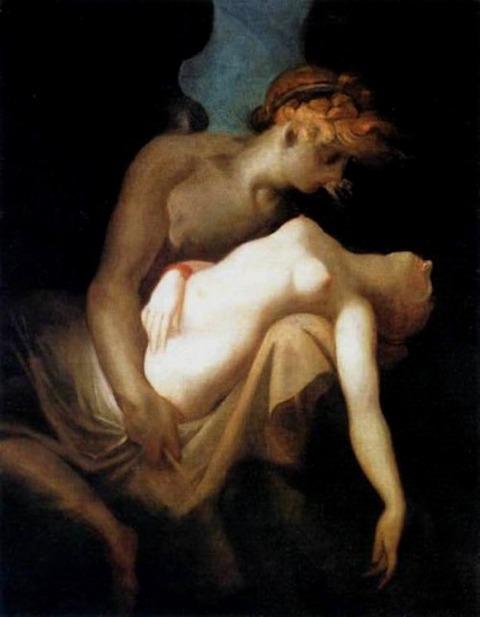 Johann Heinrich Füssli (1741-1825) - Amore e Psiche