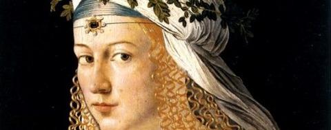 Lucrezia Borgia, by Bartolomeo Veneto -
