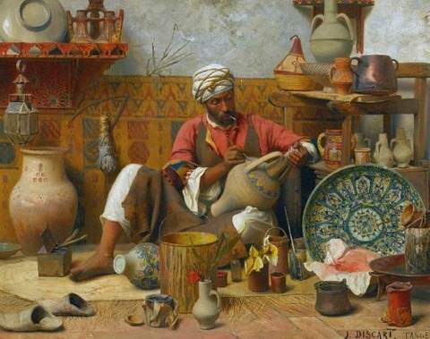 Jean Discart タンジールの陶芸工房( 1856-1944)