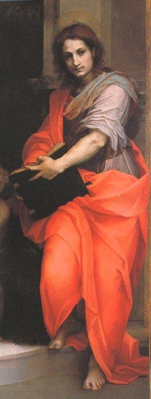 Saint John by Andrea del Sarto