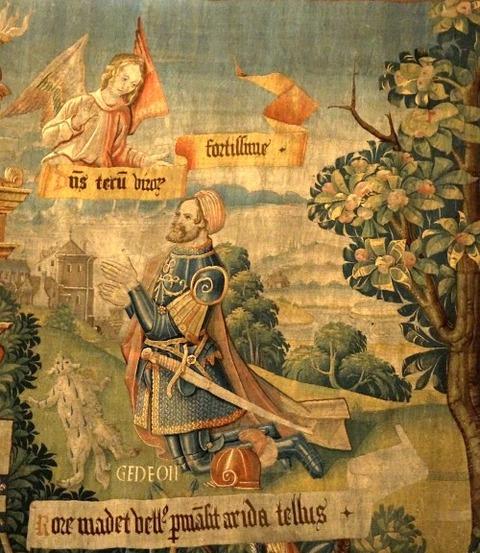 Gideon Detail Tapestry