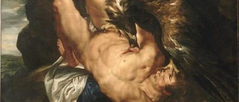 Peter Paul Rubens, Prometheus Bound, 1618 - コピー