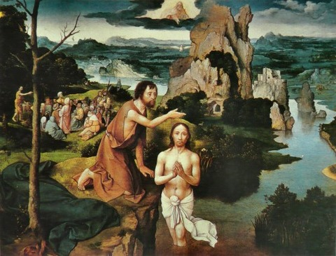 The Baptism of Christ, 1515 - Joachim Patinir