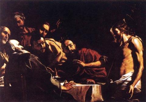 St John Reproaching Herod Baroque Mattia Preti