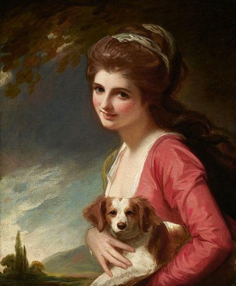 George Romney - Lady Hamilton 1782