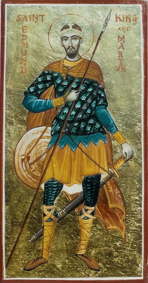 St Edmund the Martyr (c841-870