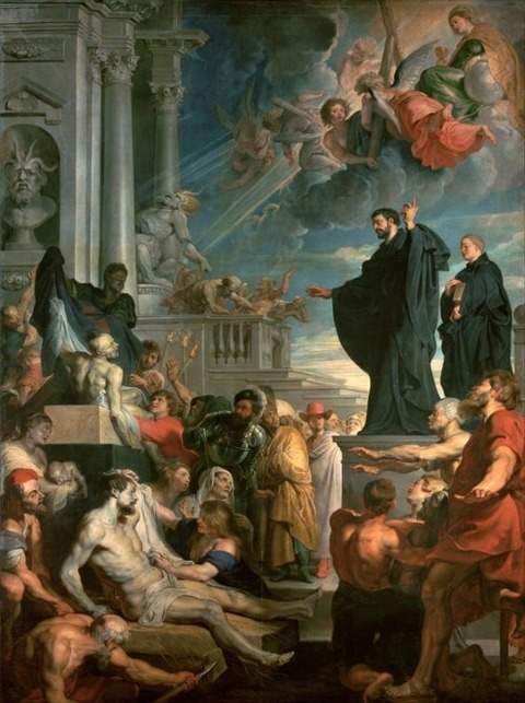 Peter Paul Rubens The Miracles of  Francis Xavier  1617