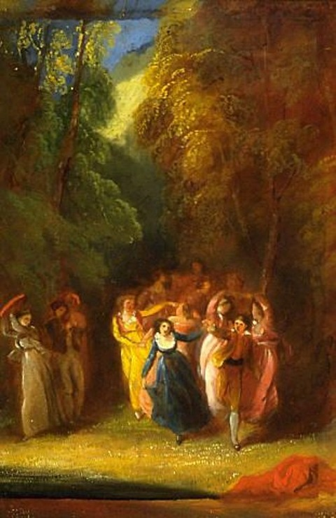 The Dance, by Thomas Stothard, 1887