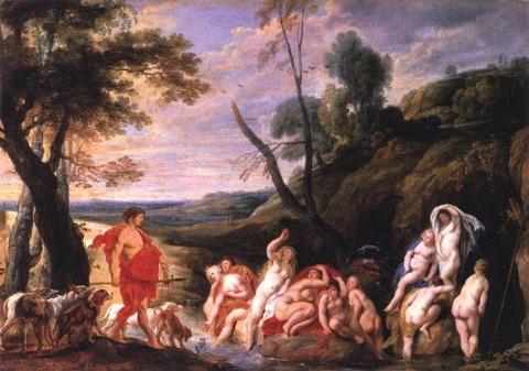 Diana and Actaeon [Jacob Jordaens]