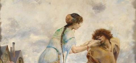 Luc-Olivier Merson 1846-1920 -