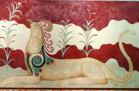 Knossos_fresco_in_throne_palace