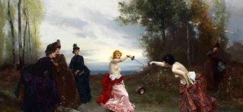 Emile-Antoine Bayard (1884) - An Affair of Honor -