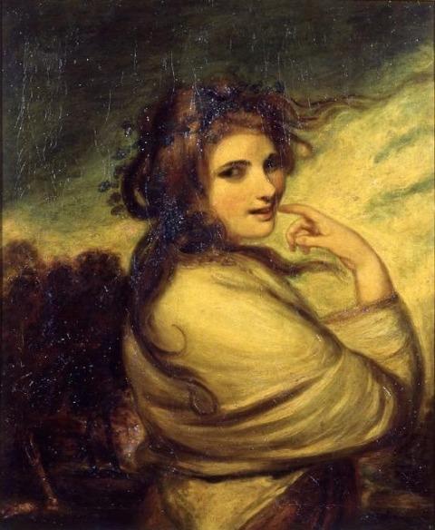 Joshua Reynolds Emma Hart later Lady Hamilton Bacchante
