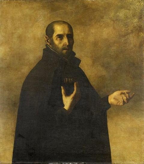 Ignatius Loyola by Francisco Zurbaran 1598-1664