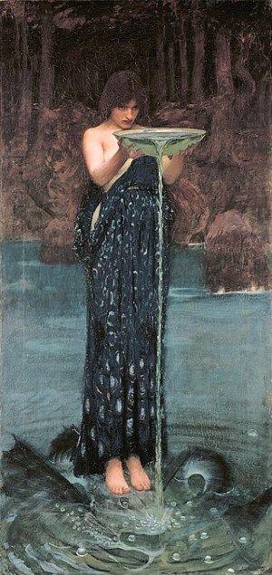 Circe_Invidiosa_John_William_Waterhouse  1892