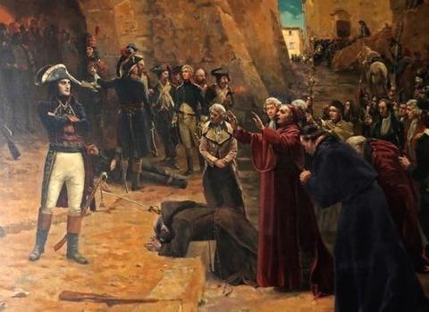 Napoleon at revolt of Pavia in 1796  19th