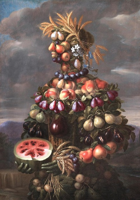 Still Life Painting - Summer by Giovanni Stanchi
