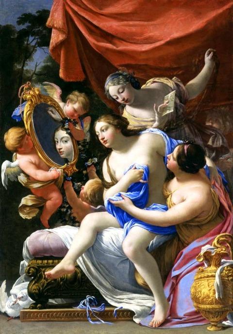 Simon Vouet The Toilet of Venus 1640