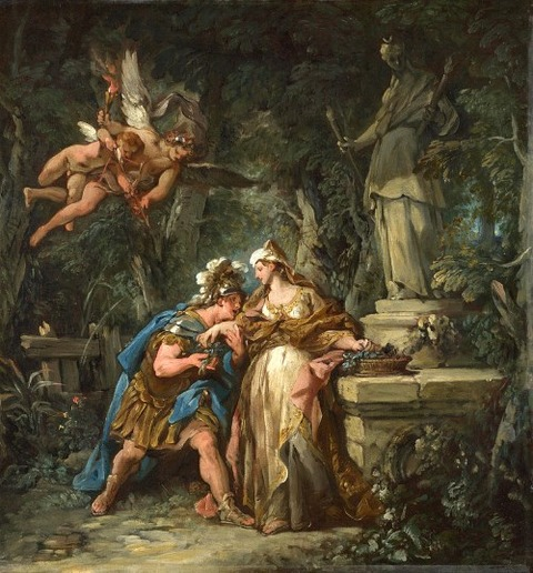 Jason swearing Affection Medea Jean-François Detroy 1742-3